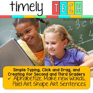 2/3: Make new words, ABC order, Pixel Art, Gratitude list typing, Shapes Cornucopia, Thanksgiving Favorites