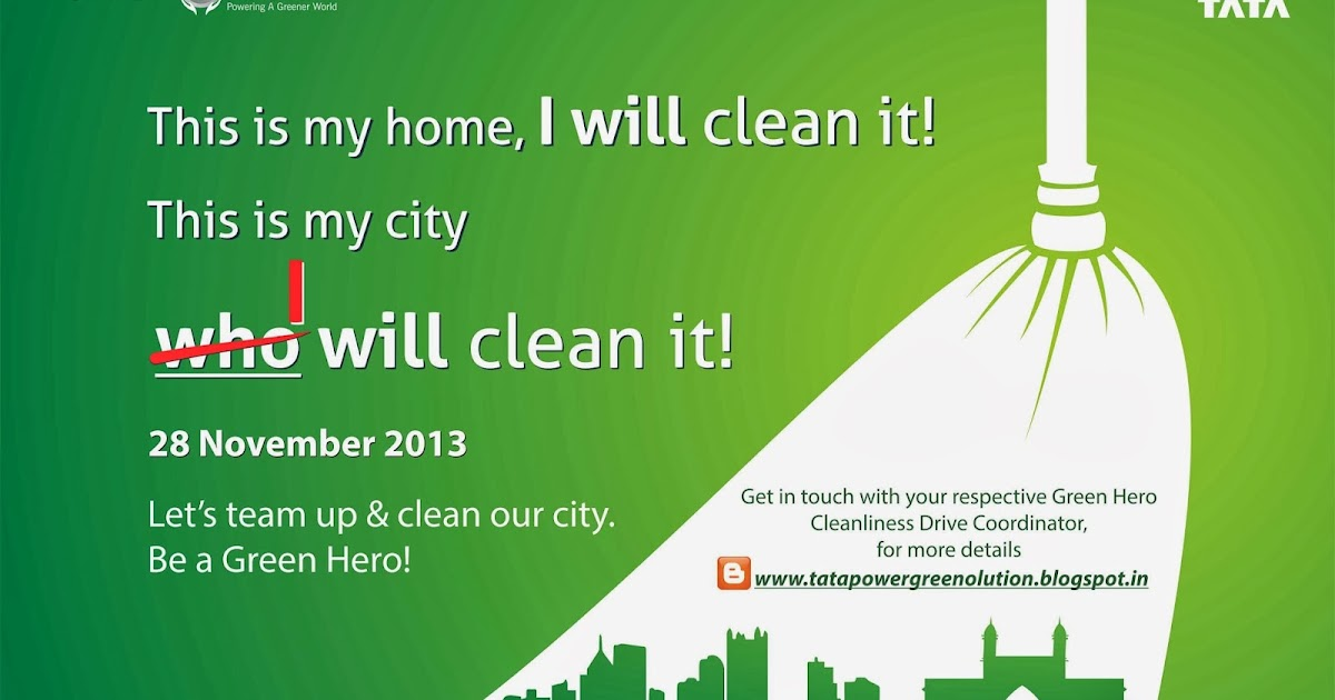 Tata Power Greenolution Greenolution Clean My City Drive