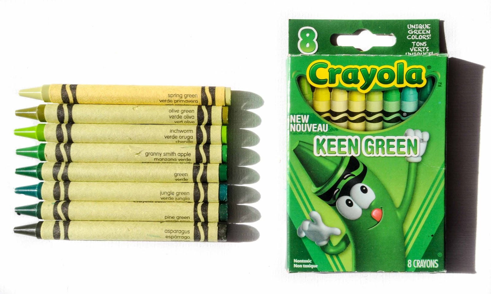 8 Count Crayola Tip Collection Crayons: What\'s Inside the Box ...