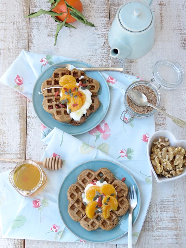 waffles integrais
