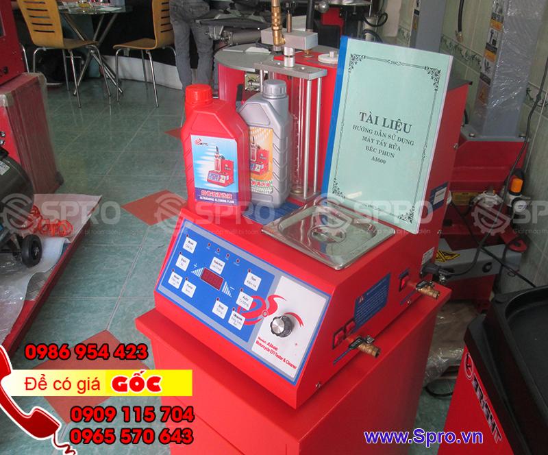 Tiệm sửa xe có nên mua máy súc rửa kim phun AI600 không
