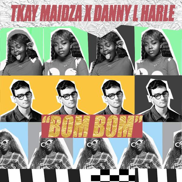 Tkay Maidza & Danny L Harle - Bom Bom - Single Cover