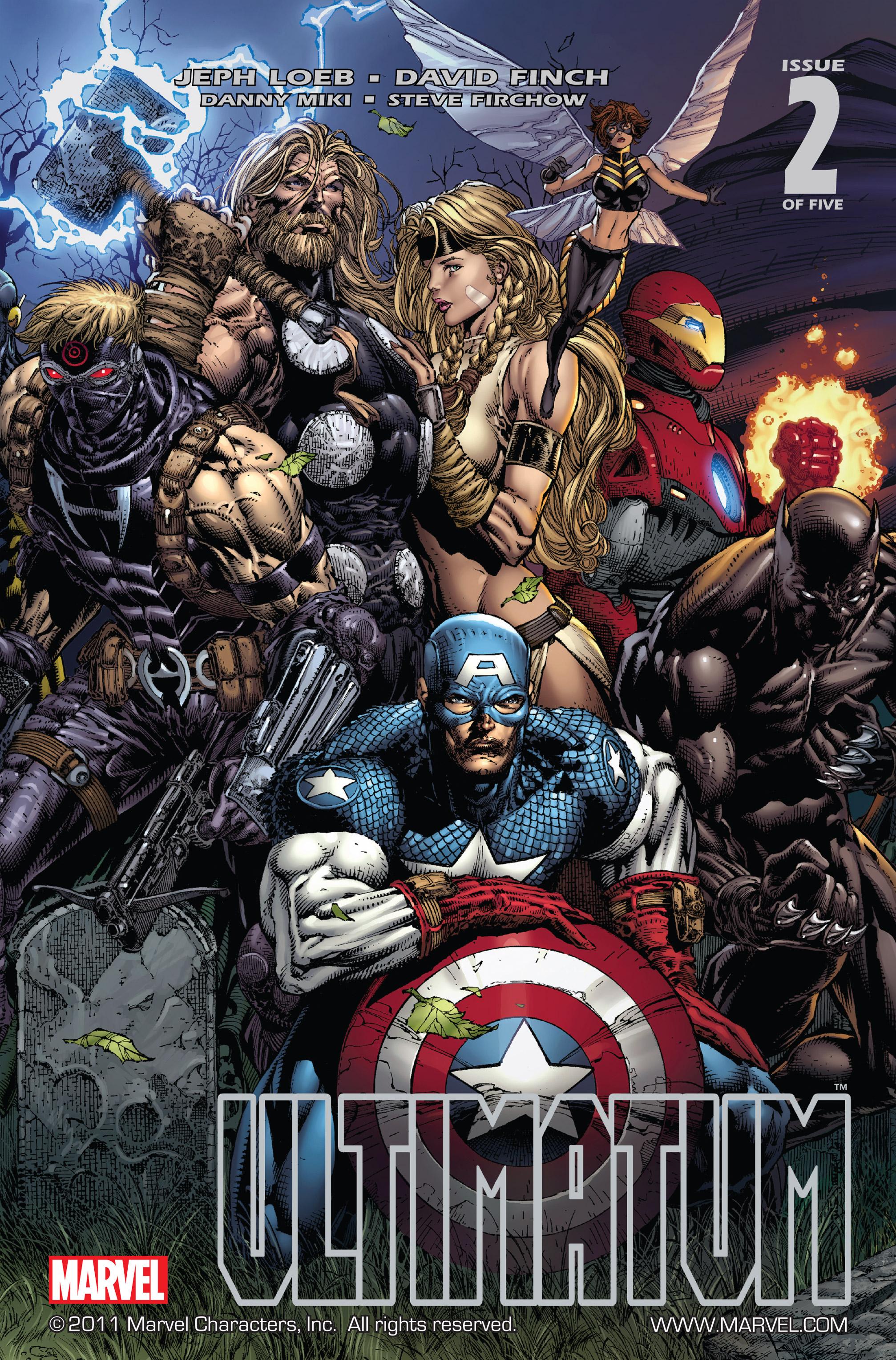 Read online Ultimatum comic -  Issue #2 - 1