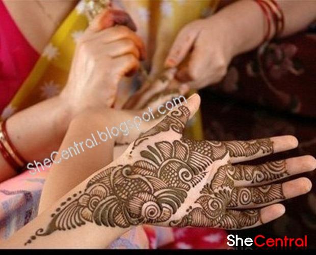Modern Mehndi Designs 2013 | Henna Art | Arabic Mehndi