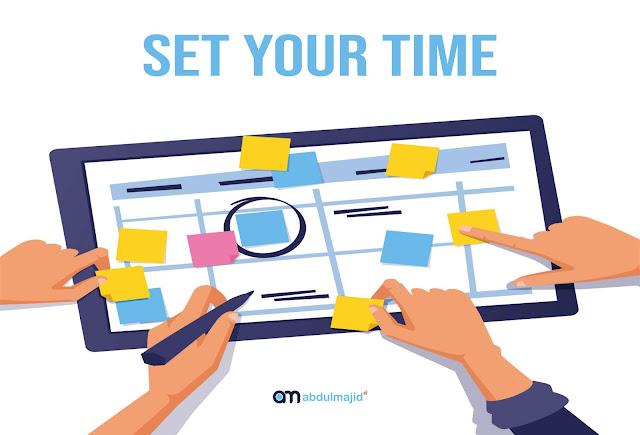 aturlah waktu secara efektif untuk ngeblog