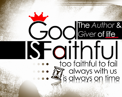 God is faithful - HD wallpaper - Free Download