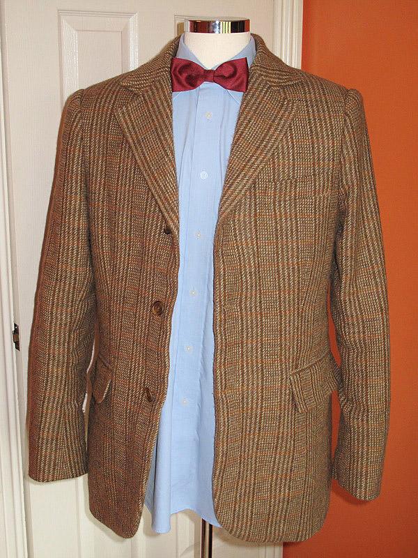 0c5b6745b227 Making My 11th Doctor Costume: Season Six Tweed jacket –finished version