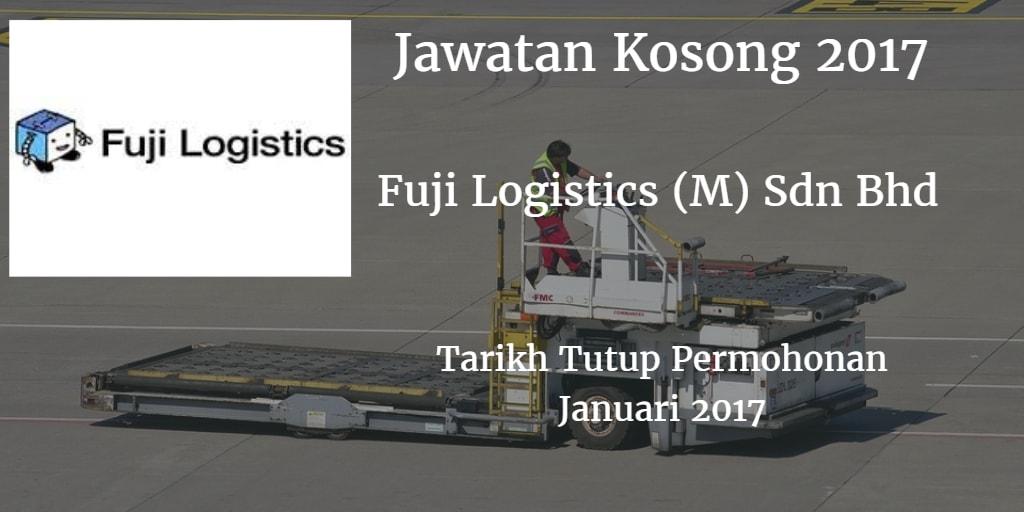Jawatan Kosong Fuji Logistics (M) Sdn Bhd Januari 2017