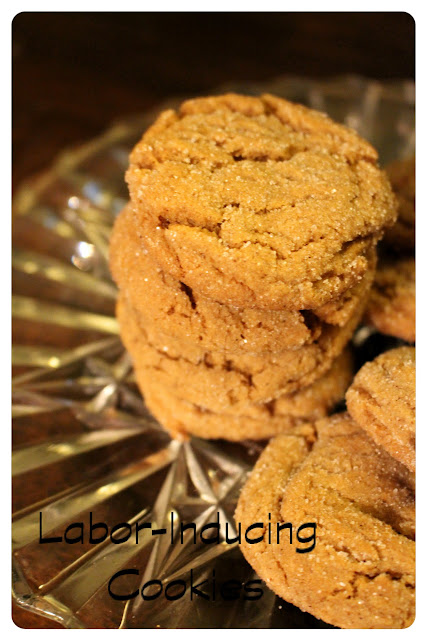Labor-Inducing Cookies (Gingersnaps)