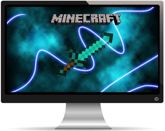 Minecraft Sword - Fond d'écran en Ultra HD 4K