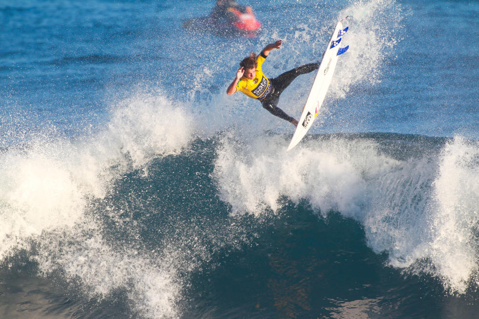 22 Evan Geiselman USA 2015 SATA Azores Pro Foto WSL Laurent Masurel