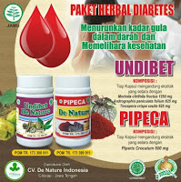 OBAT GULA DIABETES KENCING MANIS DE NATURE HERBAL