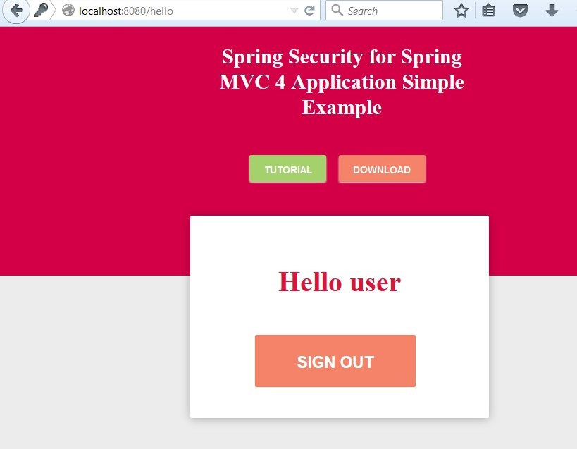 Spring Security 4 for Spring MVC Using Spring Data JPA and