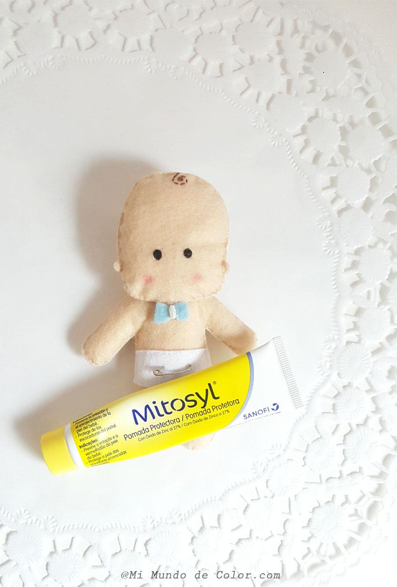 crema para el pañal de mi bebé mitosyl