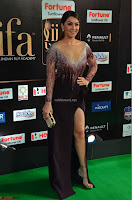 Hansika Motwani in Glittering Deep Neck Transparent Leg Split Purple Gown at IIFA Utsavam Awards 12.JPG