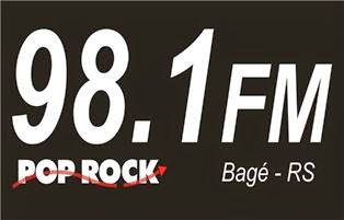 Rádio Pop Rock FM de Bagé RS ao vivo