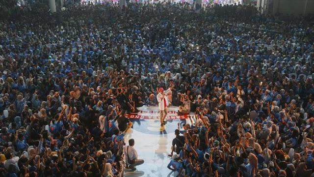 BPN: Massa Kampanye Jadi Bukti Hasil Survei Unggulkan Prabowo-Sandi