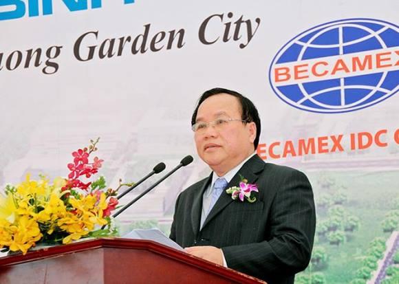 Chủ tịch UBND tỉnh Bình Dương Lê Thanh Cung