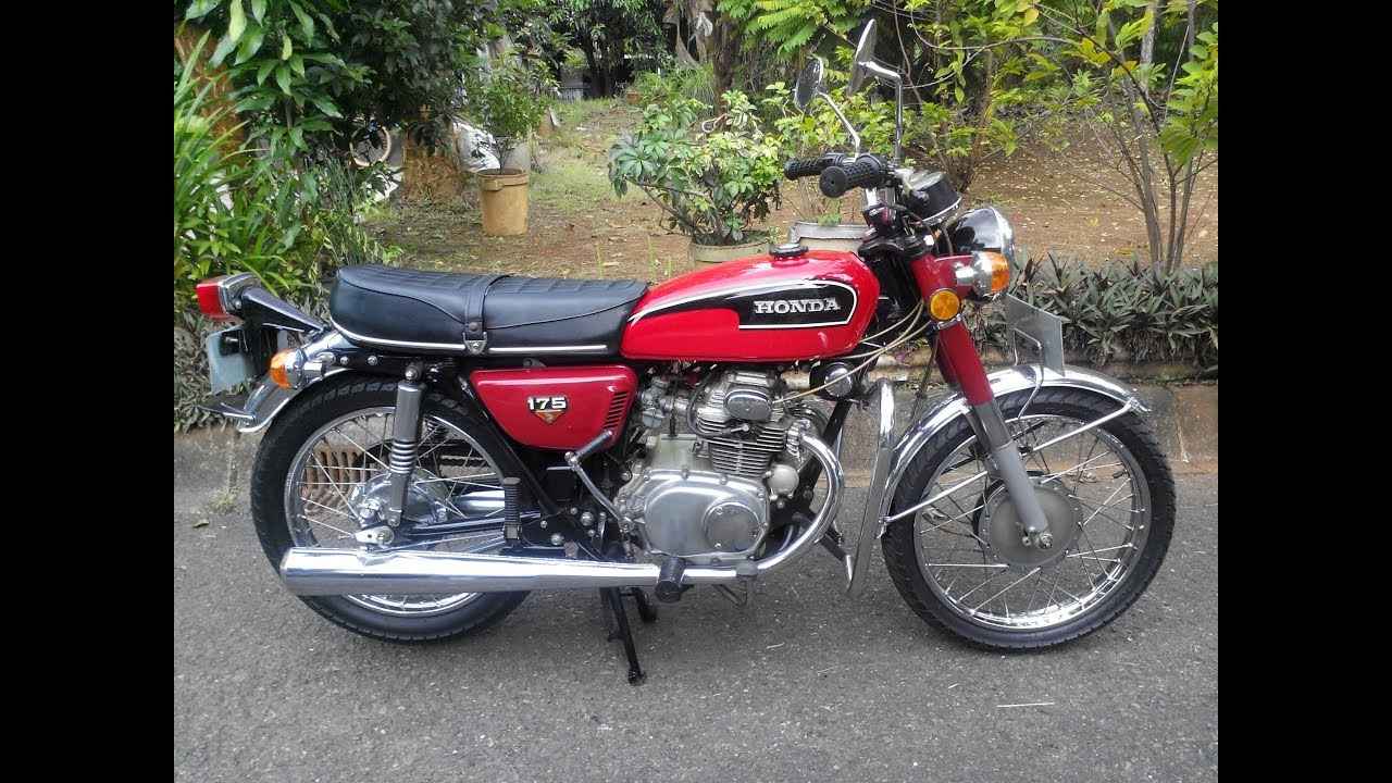 Honda CB175 K7 Mesin Klasik