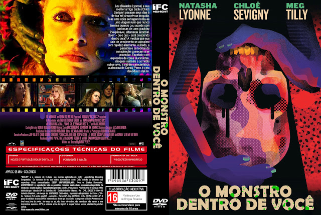 Capa DVD O Monstro Dentro de Você [Exclusiva]