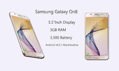 Harga Samsung, Harga Samsung Galaxy On 8, Spesifikasi Samsung