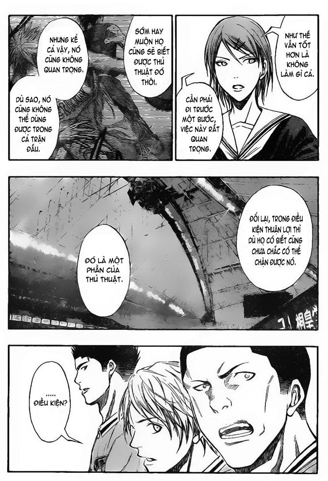 Kuroko No Basket chap 119 trang 4