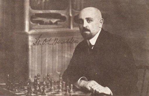 Histoire des échecs : Ossip Bernstein (1882-1962)