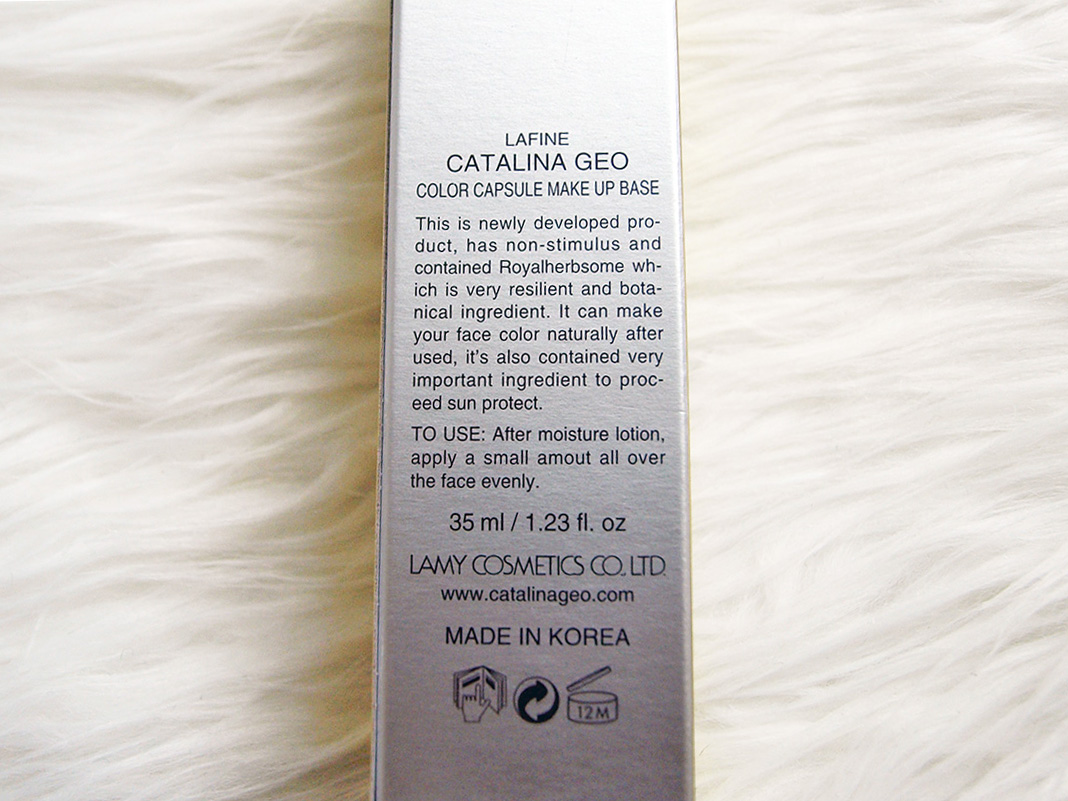 Catalina Geo Color Capsule Makeup Base