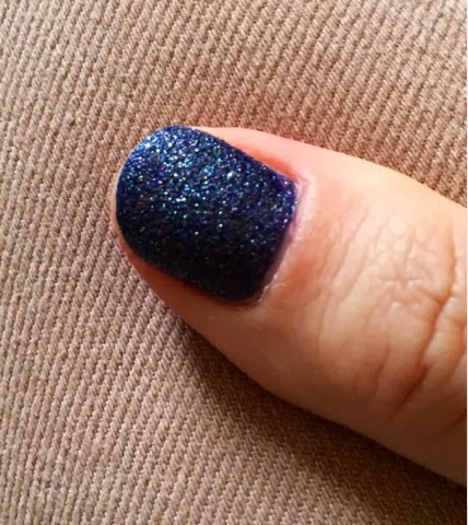 vernis, liquid sand, opi, bleu, test, folle blogueuse