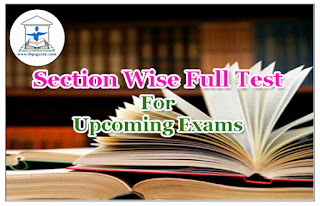 IBPS SO& IPPB  Exams 2017 – Section wise Full Test - 130