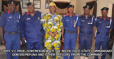 NSCDC TO PARTNER FUOYE
