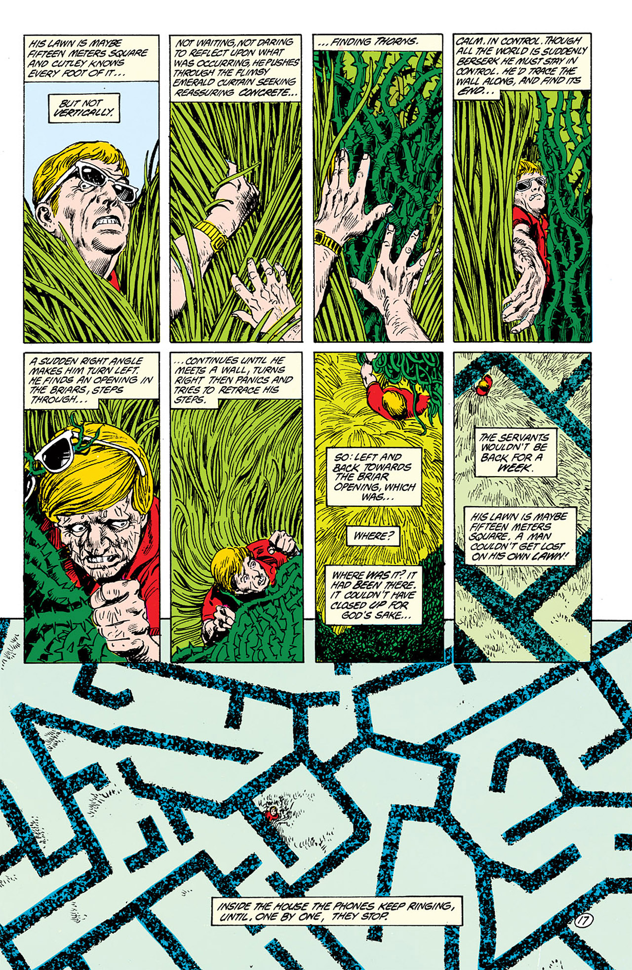 Swamp Thing (1982) Issue #63 #71 - English 17
