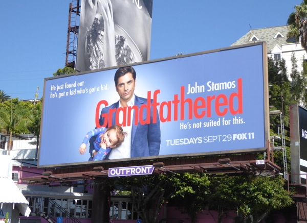 John Stamos Grandfathered billboard