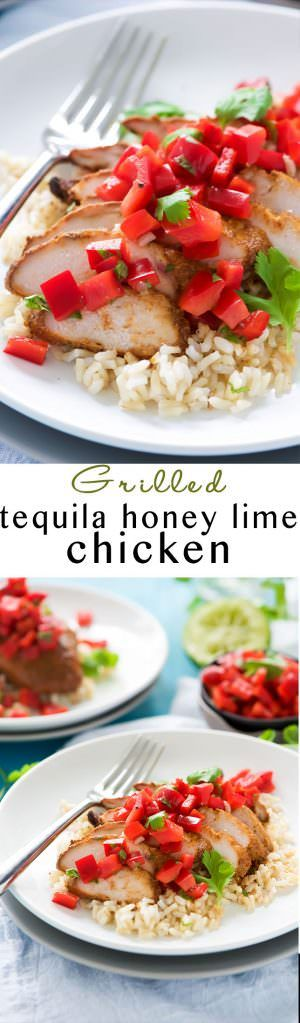 Tequila Honey Lime Chicken