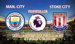 Prediksi Manchester City vs Stoke City 14 Oktober 2017