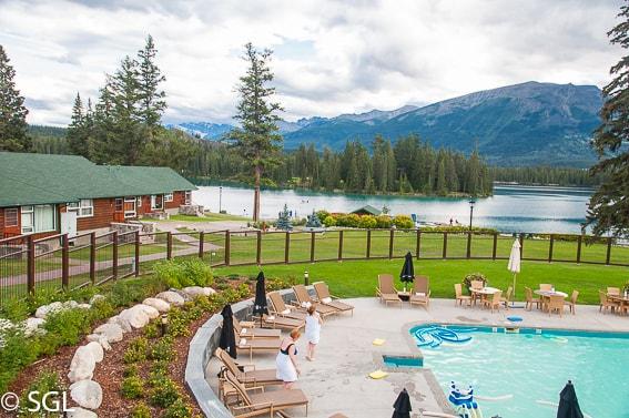 Hotel en Jasper. Canadá
