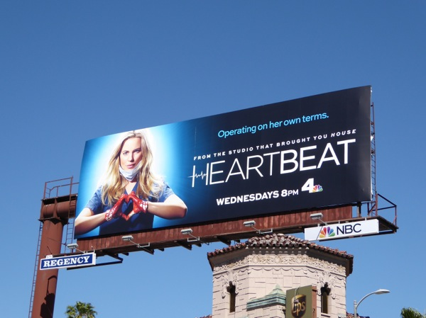 Heartbeat series premiere billboard
