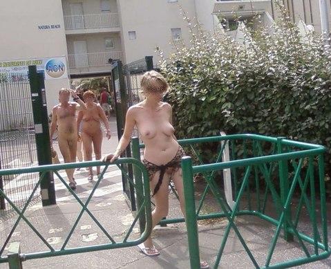 Sexy Physique Women At Cap Agde Nude Beach Free Porn