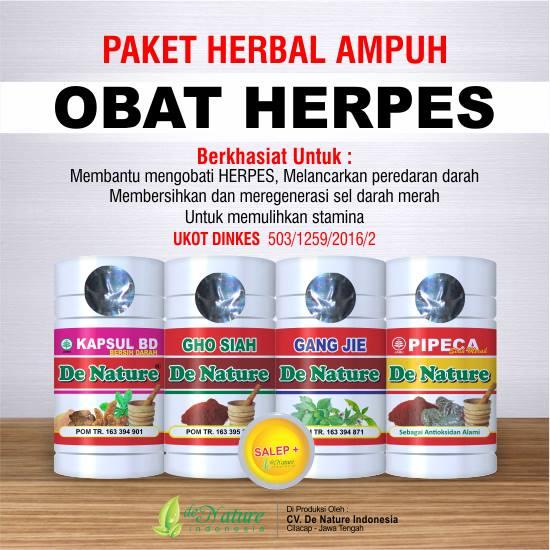 cara menyembuhkan sakit herpes