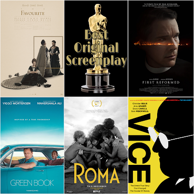 Best Original Screenplay 2019 Academy Awards predictions