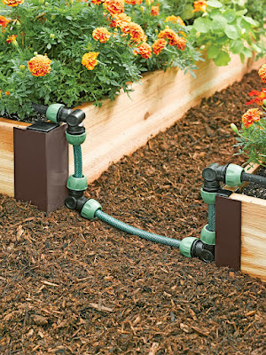 Installing Self Watering Raised Garden Bed Corners