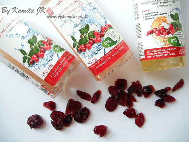 GoCranberry żurawinowy płyn micelarny, olejek do demakijażu micelarny żel micel