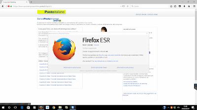 BancoPostaImpresa online BPIOL key, Java e Firefox: Ecco come risolvere con Firefox 52 ESR