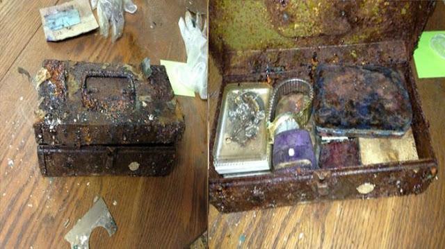 Berniat Membersihkan Rumah Hasil Warisan Keluarga, Pria Ini Temukan Kotak Brangkas Isinya Sungguh Membuatnya Terkejut