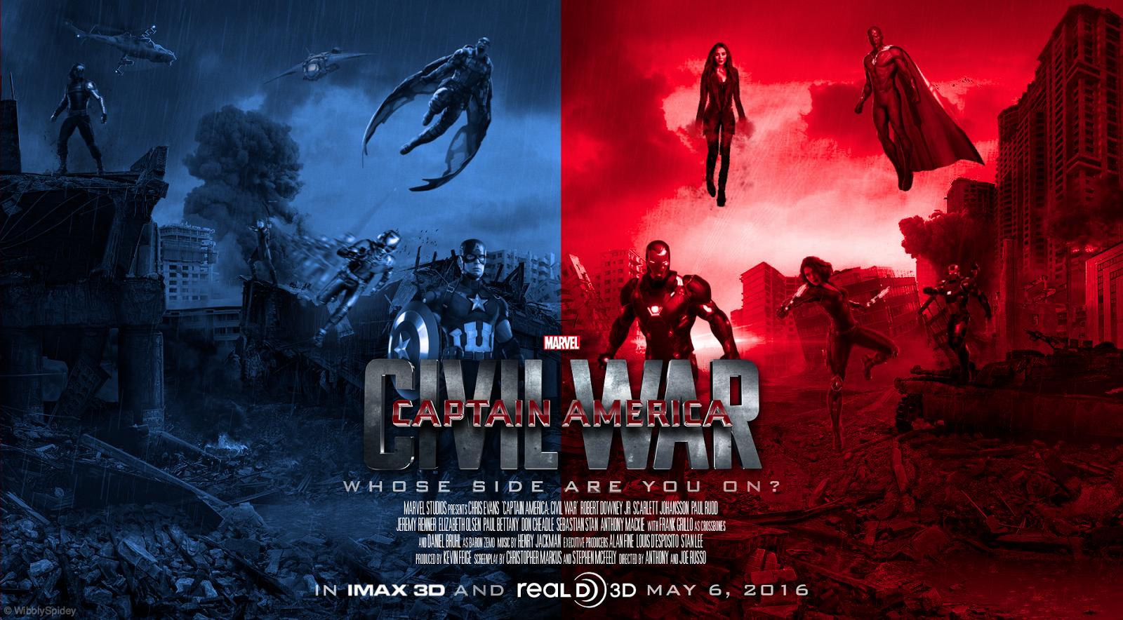Captain America Civil War 2016 Amazing Wallpaper Collection In Hd
