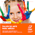 Este jueves 10 de enero inicia el Taller de Arte para Niños