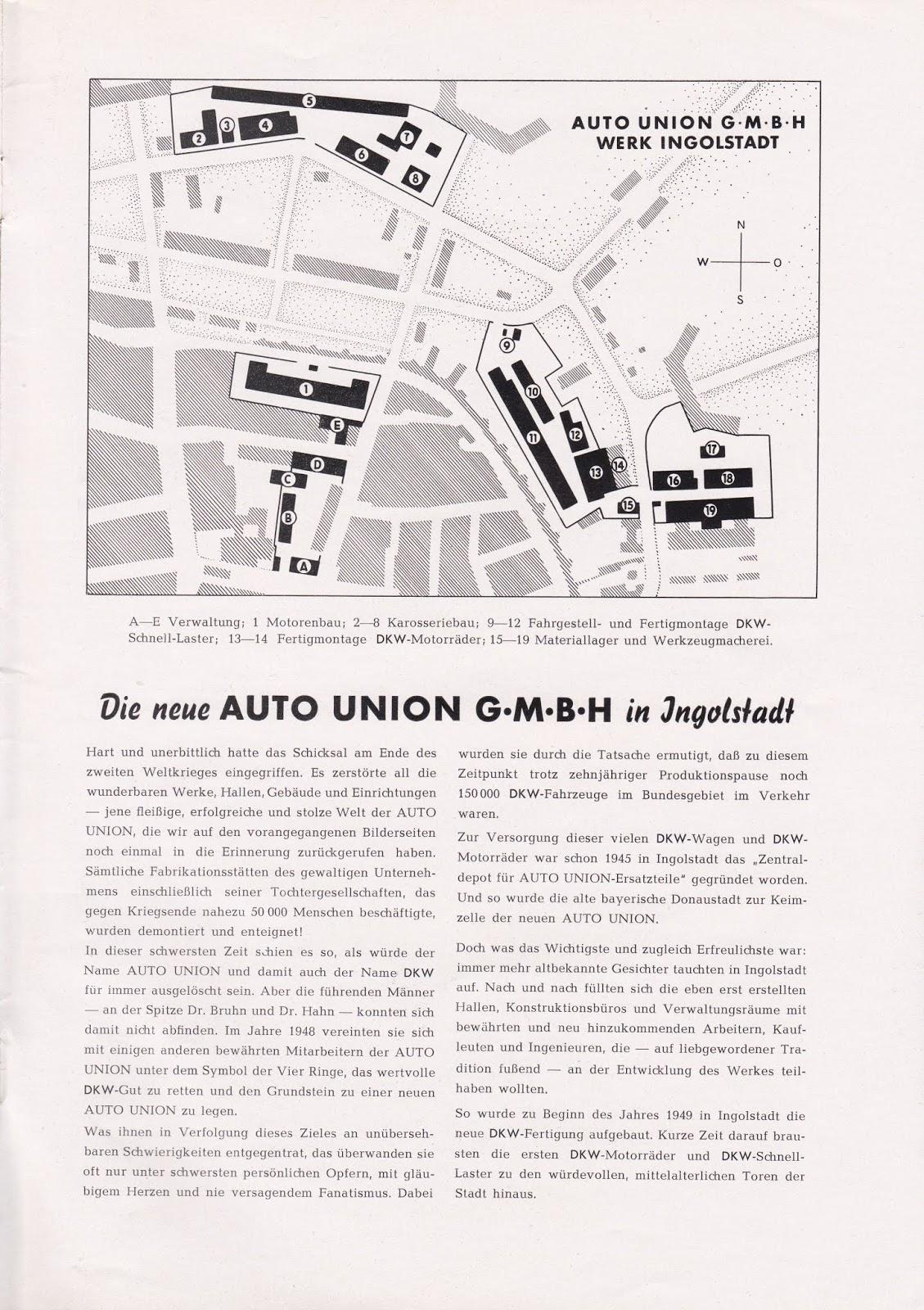 DKW Auto-Union Project: 1951 DKW Nachrichten Special