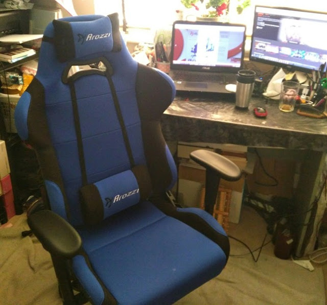 Torretta XL Ergonomic Bucket Seat Gaming Chair By Arozzi