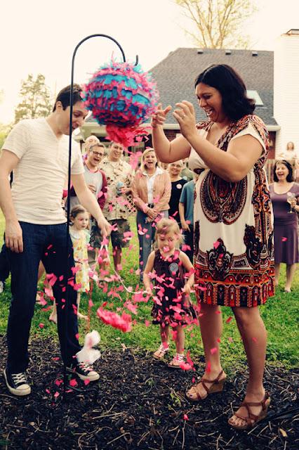 Baby Gender Reveal with Siblings