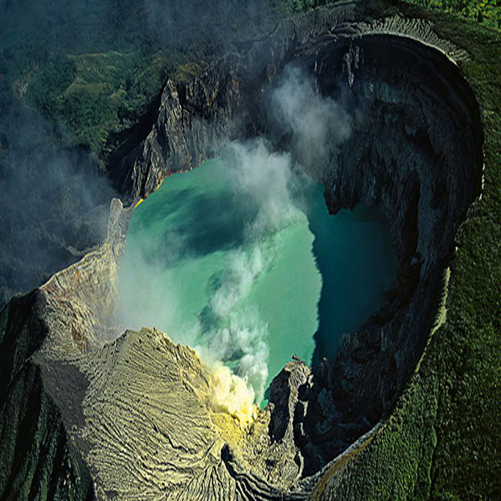 Ijen Crater, Banyuwangi of East Java province Indonesia